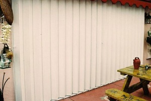 Durable accordion shutters